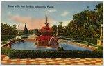 Scene in Du Pont Gardens, Jacksonville, Florida Circa 1905-1950