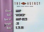 American Association of Health Plans Ads—Answer, 9/29/1999