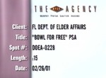 BCBSF Department of Elder Affairs PSA—Bowl for Free