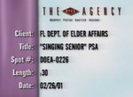 BCBSF Department of Elder Affairs PSA—Singing Senior by Blue Cross and Blue Shield of Florida, Inc.