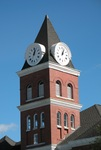 Wayne Co CH GA Clock Tower 1