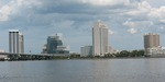 Jax Skyline from Northbank St. Johns River 2