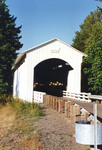 Covered Bridge Cottage Grove OR 1 by George Lansing Taylor Jr.