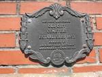 Jacksonville City Cemetery Plaque 1