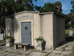 Porcher Mausoleum in St. Luke's Episcopal Cemetery, Courtenay, FL by George Lansing Taylor Jr.