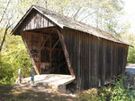 Stovall Mill Covered Bridge 3 by George Lansing Taylor Jr.