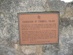Turnbull Palace Plaque, New Smyrna Beach, FL