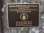 Banner Elk Presbyterian Plaque