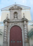 Basilica of St. Paul Front Entrance Detail Daytona Beach FL