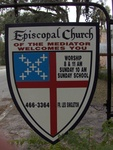 Episcopal Church of the Mediator Sign Micanopy, FL