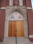 First Baptist Church Door Dublin, GA