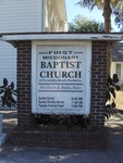 First Missionary Baptist Church Sign, Fernandina Beach, FL