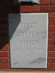 First Presbyterian Church Cornerstone Havana, FL
