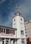 Jax Beach Lifeguard Station Tower, FL by George Lansing Taylor Jr.
