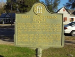 First Presbyterian Church Marker St. Mary's, GA