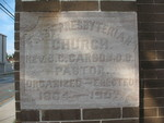 First Presbyterian Church Cornerstone Valdosta, GA