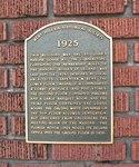 St. Johns Masonic Lodge Plaque, Deland, FL
