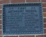 First United Methodist Church Plaque Kissimmee, FL