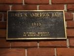 Anderson Hall UF Plaque, FL