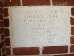 Jennings United Methodist Church Cornerstone Jennings, FL