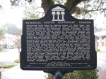 Memorial United Methodist Church Marker Fernandina Beach, FL