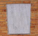 Mount Ararat Baptist Church Cornerstone Jacksonville, FL