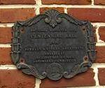 Centennial Hall Plaque, Edward Waters College, Jacksonville, FL