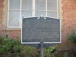 First United Methodist Church Historical Marker Monticello, FL