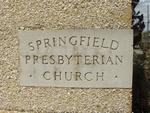 Springfield Presbyterian Church Cornerstone Jacksonville, FL
