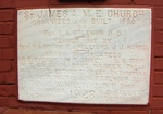 St. James AME Church Cornerstone 1, Sanford, FL