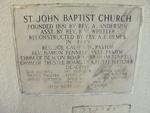 Former St. John Missionary Baptist Church Cornerstone 1, Orange Park, FL