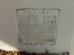 Former St. John Missionary Baptist Church Cornerstone 2, Orange Park, FL
