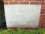 St. Mark's Episcopal Church Cornerstone, Jacksonville, FL