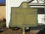 St. Marys United Methodist Church Historical Marker, St. Marys, GA