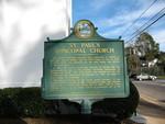 St. Paul's Episcopal Church Historical Marker, Quincy, FL