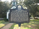 Former St. Rita's Colored Catholic Mission Historical Marker, New Smyrna Beach, FL