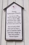 Trinity Episcopal Church Historical Marker, Melrose, FL