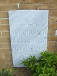 Trinity United Methodist Church Cornerstone, St. Augustine, FL