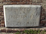 Trinity United Methodist Church Cornerstone, Fernandina Beach, FL