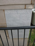 Ben Hill County Courthouse Cornerstone 1, Fitzgerald, GA by George Lansing Taylor Jr.