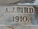 A. J. Bird Building Threshold, Metter, GA