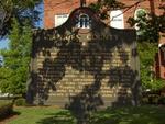 Berrien County Historical Marker, Nashville, GA
