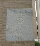 Dodge County Courthouse Cornerstone 1, Eastman, GA by George Lansing Taylor Jr.