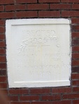 Former Flagler County Courthouse Cornerstone, Bunnell, FL
