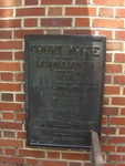 Former Levy County Courthouse Plaque, Bronson, FL