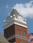 Twiggs County Courthouse Clock Tower Jeffersonville, GA