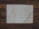 Former Bank of Tignall Cornerstone, Tignall, GA