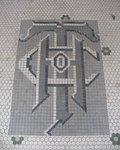 Hand Trading Company Mosaic Logo, Pelham, GA