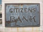 Former Citizens Bank of Cairo Plaque, Cairo, GA