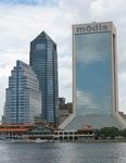 Jacksonville Skyline from Southbank, Jacksonville, FL